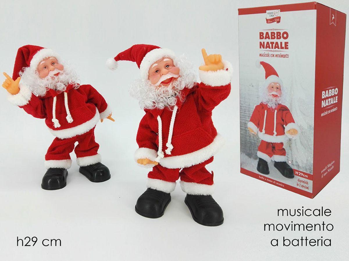 Babbo Natale Musicale.Babbo Natale Musicale