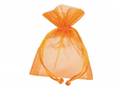 BUSTINA ORGANZA 7,5X10 ORANGE